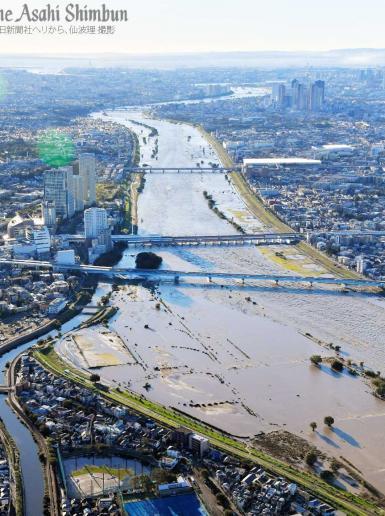 قتلى وجرحى في أقوى اعصار يضرب اليابان منذ أكثر  من 60 عاما