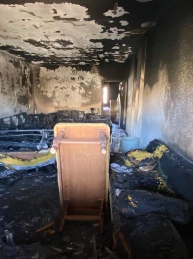 وفاة طفلين شقيقين في حريق منزل وسط مدينة بيت لحم