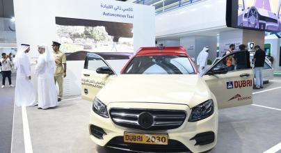 تكسي ذاتي القيادة في دبي