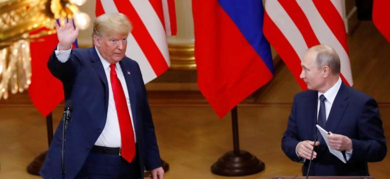 لقاء بين بوتين وترامب