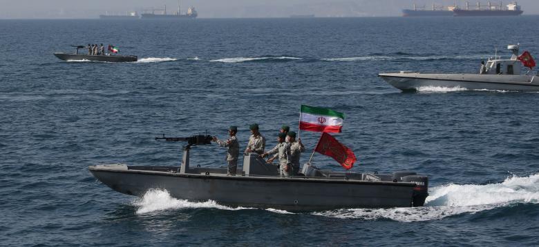 الحرس الثوري الايراني وناقلة نفط بريطانية