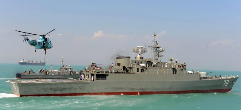 إيران ترسل مدمرة وحاملة مروحيات إلى الحديدية في اليمن