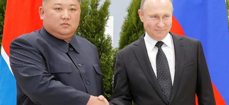 عقد قمة بين بوتين والرئيس الكوري الشمالي