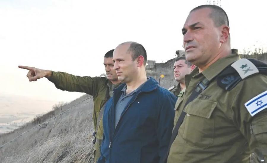 نفتالي بنيت وقطاع غزة