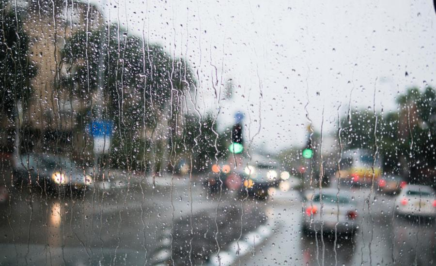 الامطار في فلسطين