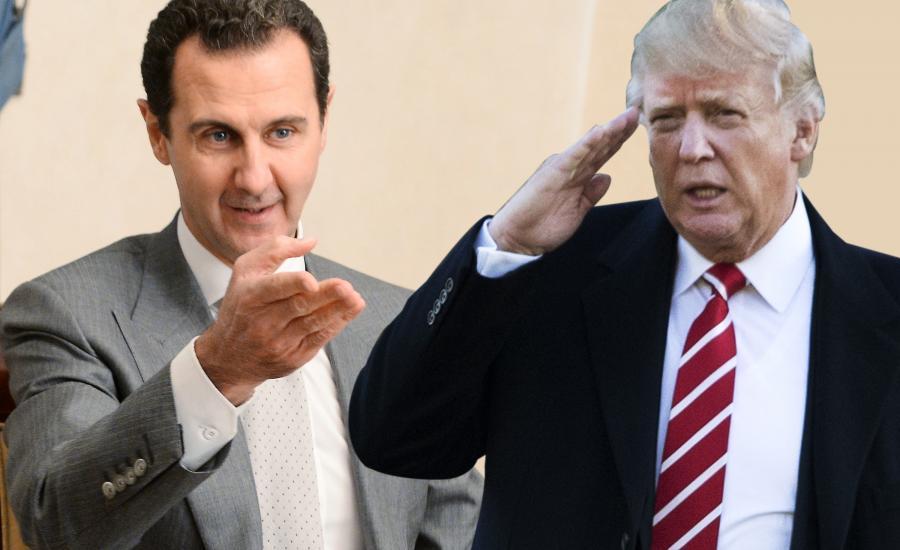 رسالة امريكية الى الرئيس السوري بشار الاسد