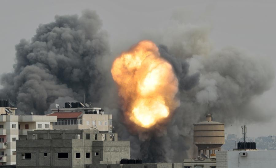 قطاع غزة واسرائيل والحرب