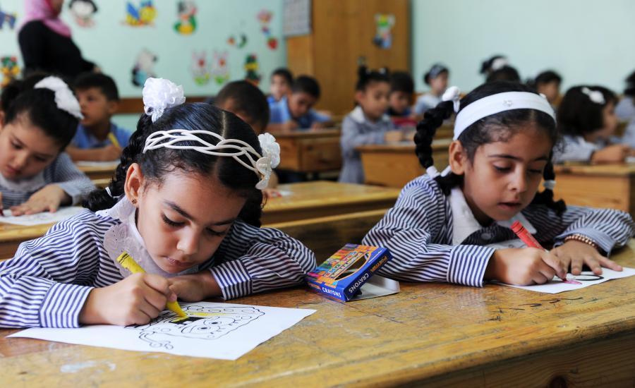 مدارس اونروا في قطاع غزة