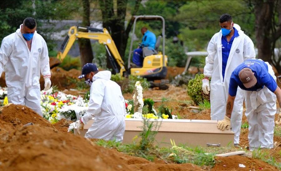 وفيات كورونا في البرازيل