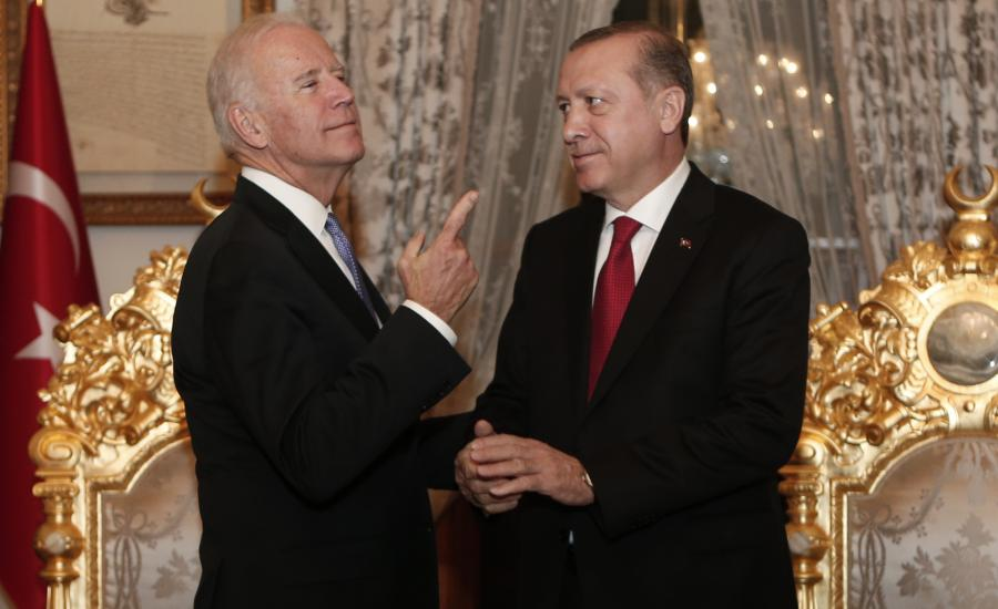 اردوغان وجو بايدن