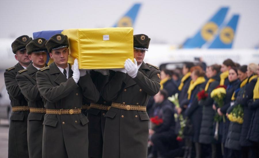 تحطم طائرة اوكرانية
