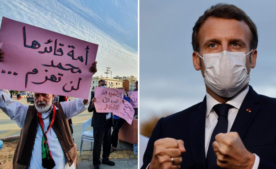 فرنسا والدول الاسلامية