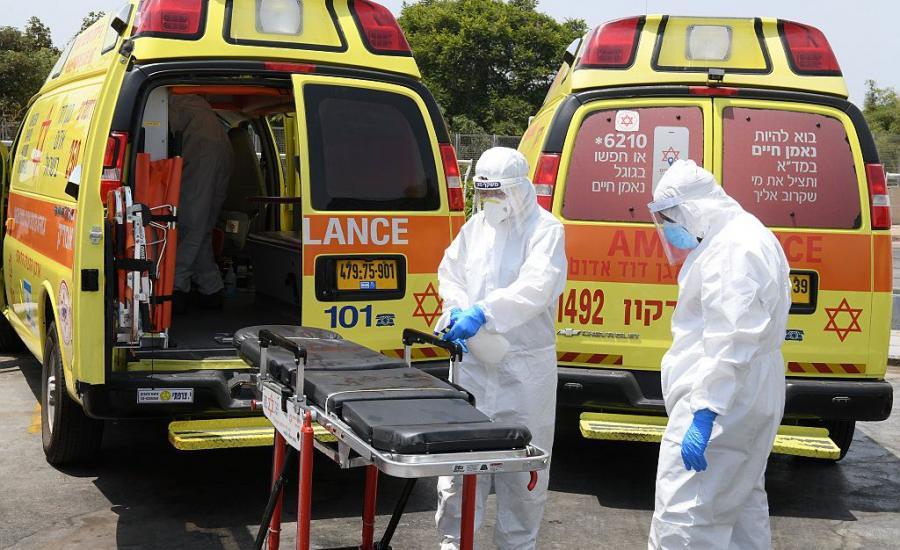 وفيات بفيروس كورونا في اسرائيل