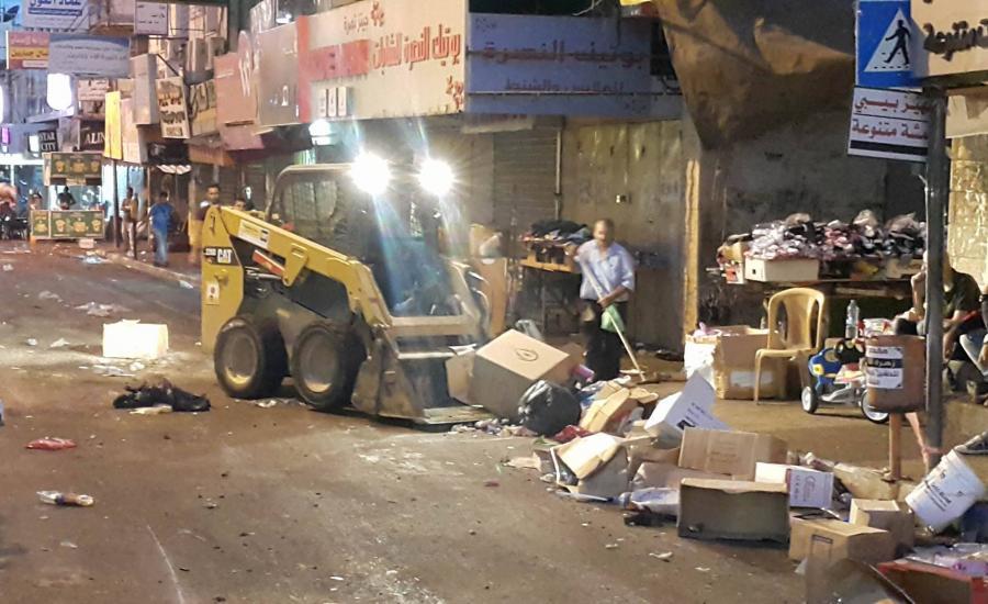 بلدية جنين ورسوم النفايات للمحال التجارية