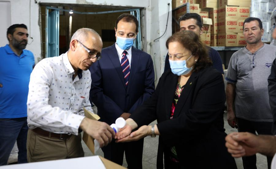 مساعدات طبية مصرية لفلسطين