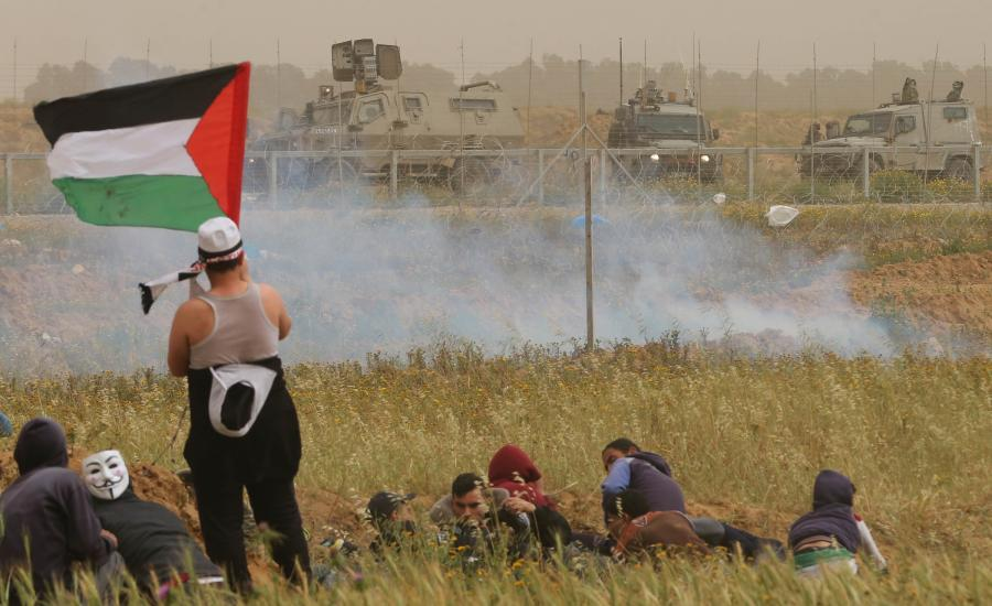 اصابات في غزة