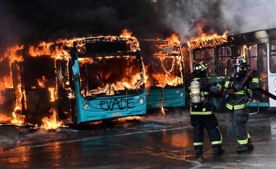 قتلى في احتجاجات تشيلي