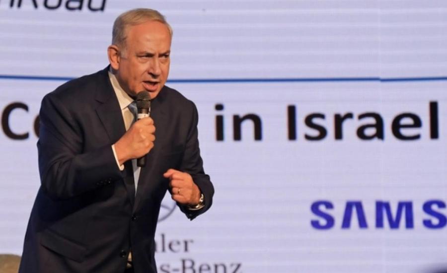 نتنياهو وضم الضفة الغربية الى اسرائيل