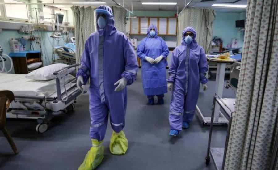 الاصابات بفيروس كورونا في قطاع غزة
