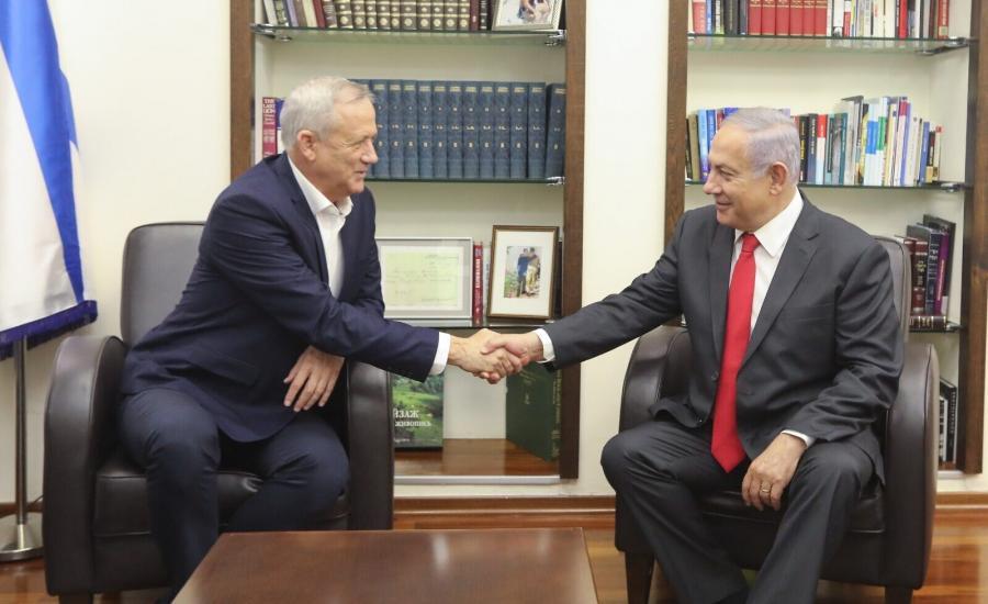نتنياهو وغانتتس واسرائيل