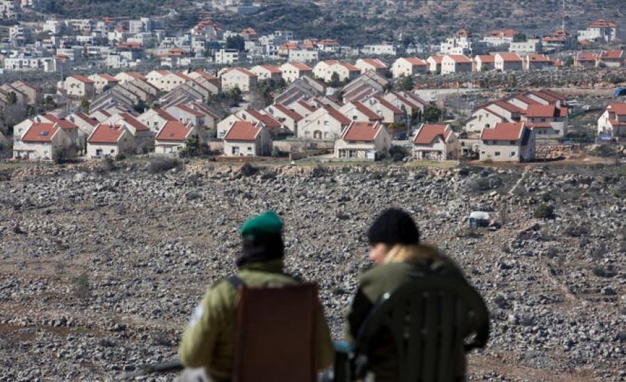 المستوطنون واسرائيل والمستوطنات