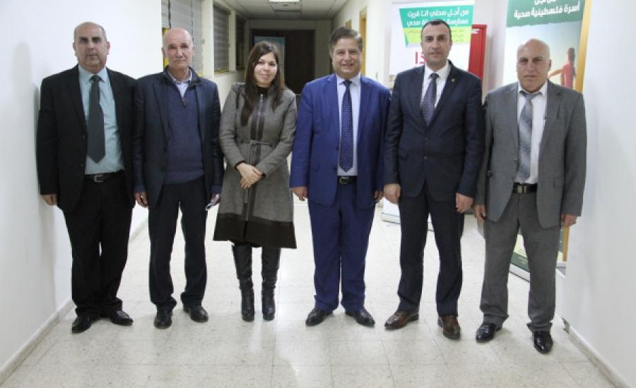 وفد وزارة الصحة الفلسطينية الى فنزويلا