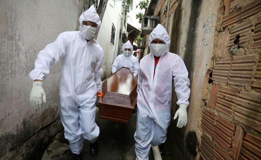 البرازيل والاصابات بفيروس كورونا