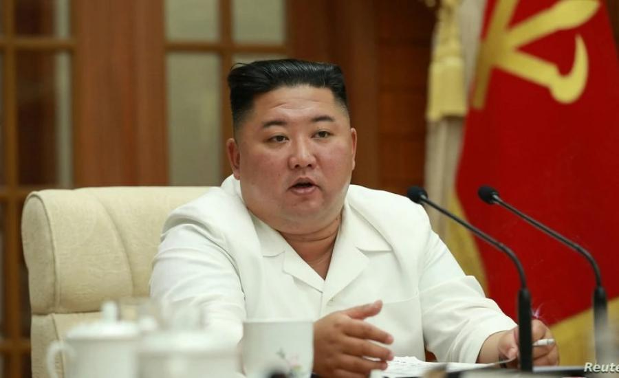 الزعيم الكوري الشمالي وبادين