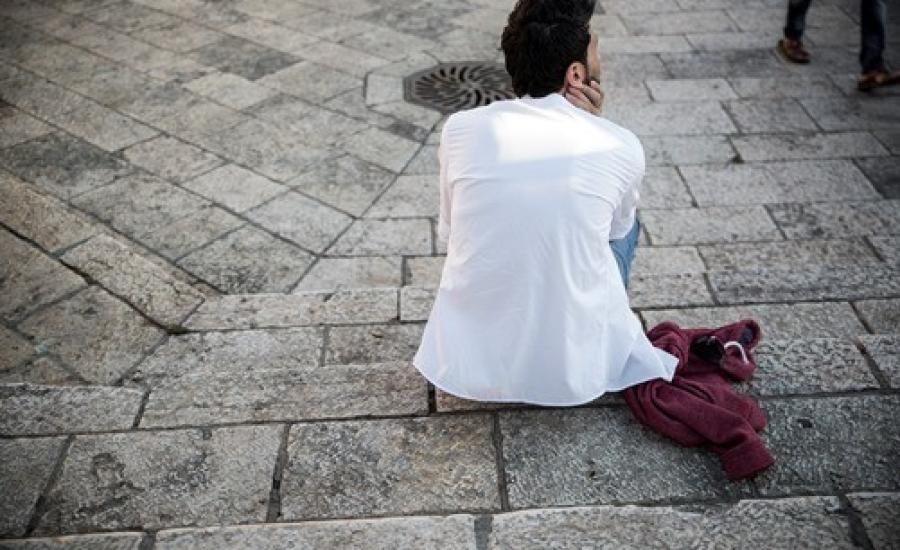 ارتفاع البطالة في فلسطين