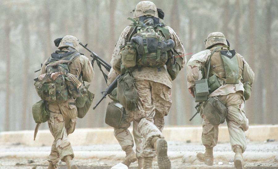 الحرب في العراق وافغانستان