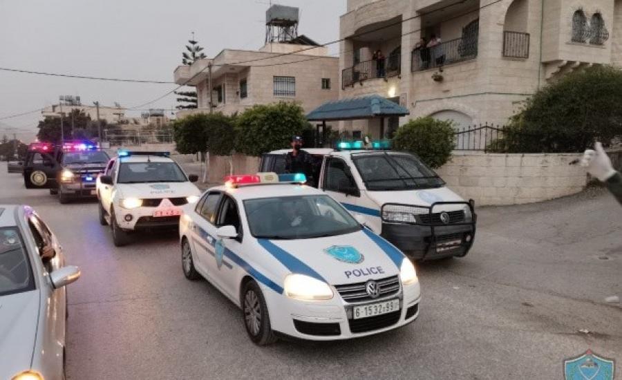 الاعتداء على مركبة للشرطة في بيت لحم