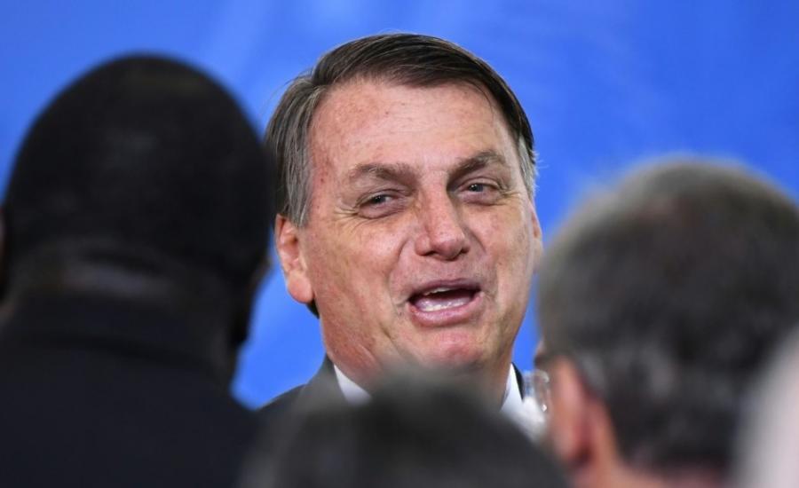رئيس البرازيل ولقاح فايزر
