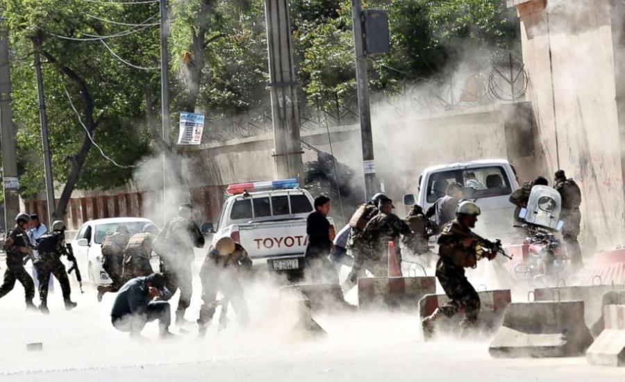 هجوم انتحاري في افغانستان