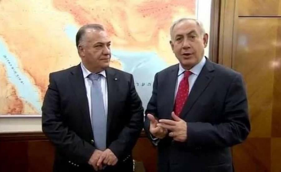 نتنياهو ورئيس بلدية الناصرة