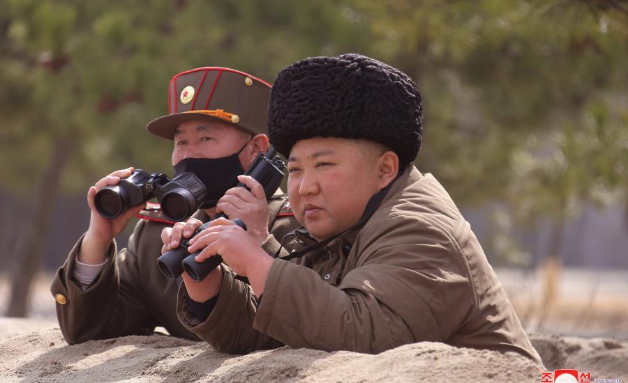 زعيم كوريا الشمالية وبايدن
