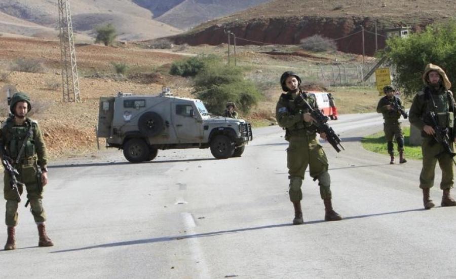 حواجز عسكرية في رام الله