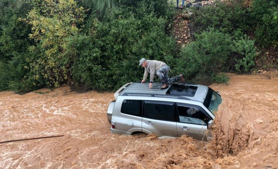 اسرائيل والفيضانات
