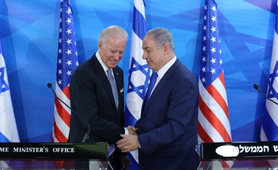 نتنياهو وبايدن واسرائيل