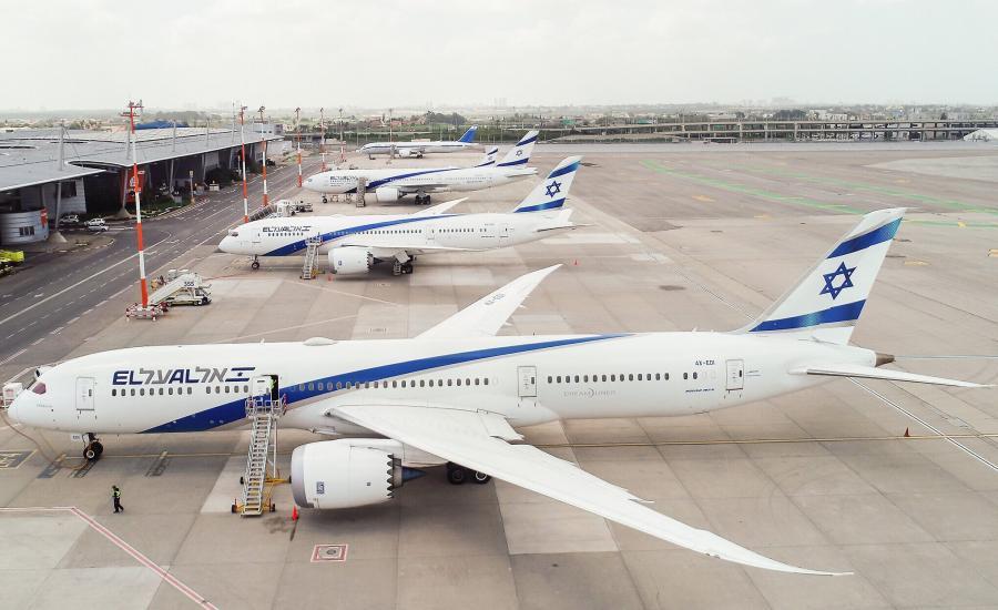 اسرائيل والاجواء