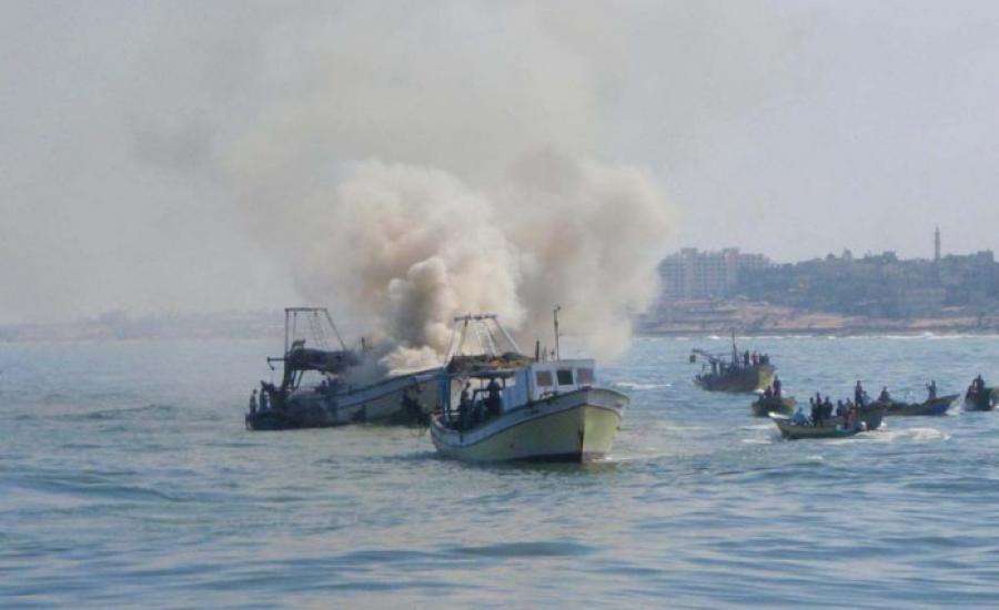 البحرية الاسرائيلية وقطاع غزة