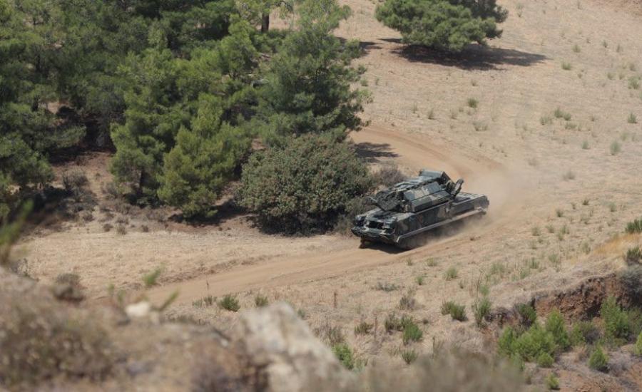 تدريبات عسكرية اسرائيلية في قبرص