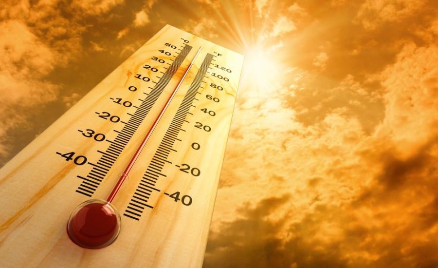 اجواء شديدة الحرارة في فلسطين