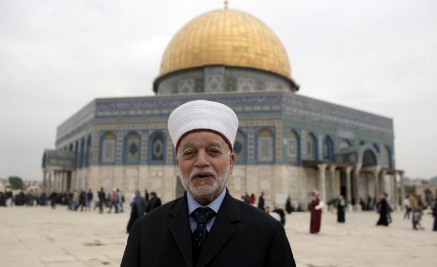 مفتي فلسطين والاقصى