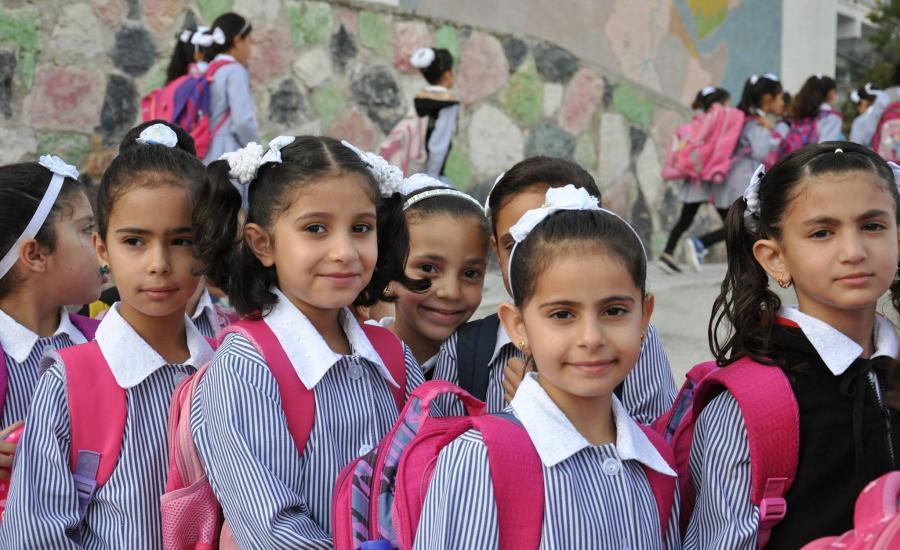 عودة المدارس في الضفة الغربية