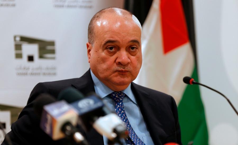ناصر القدوة في قطاع غزة