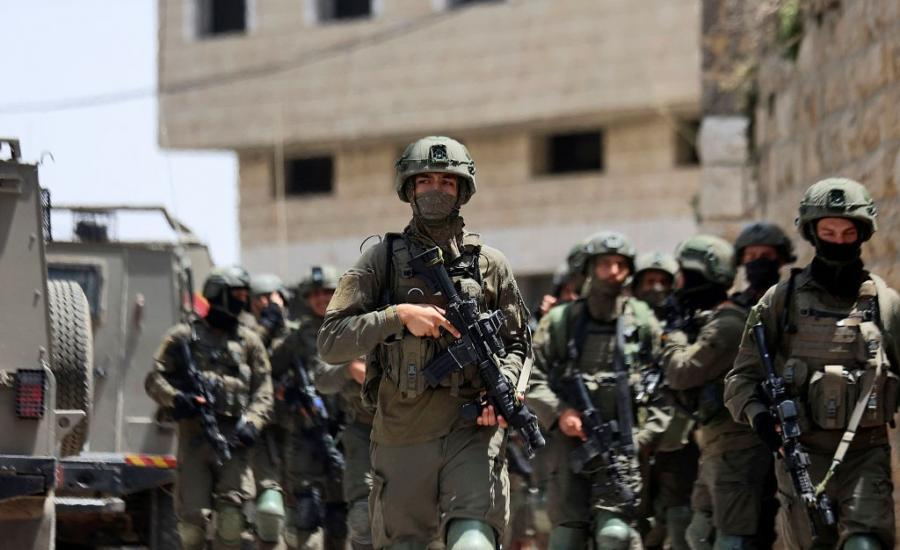 الجيش الاسرائيلي ومنفذ عملية زعترة
