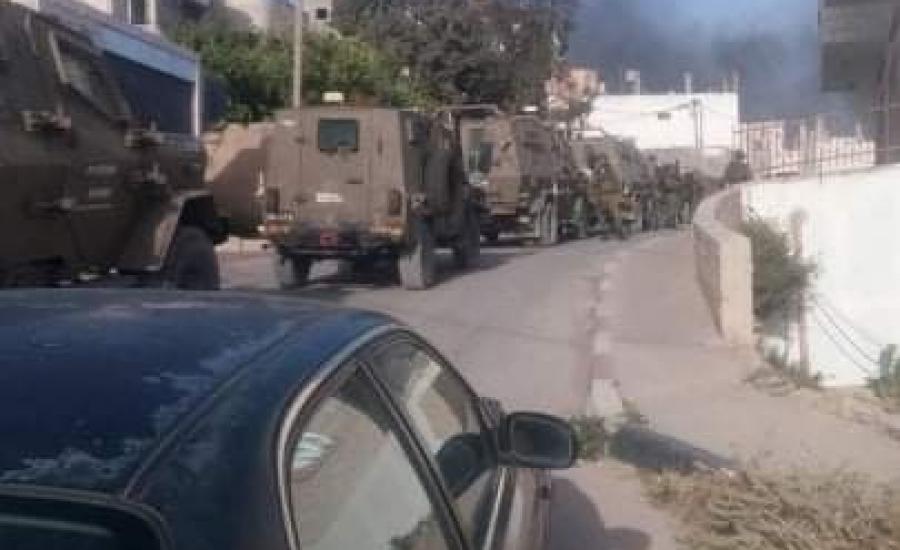 اقتحام قرى في نابلس