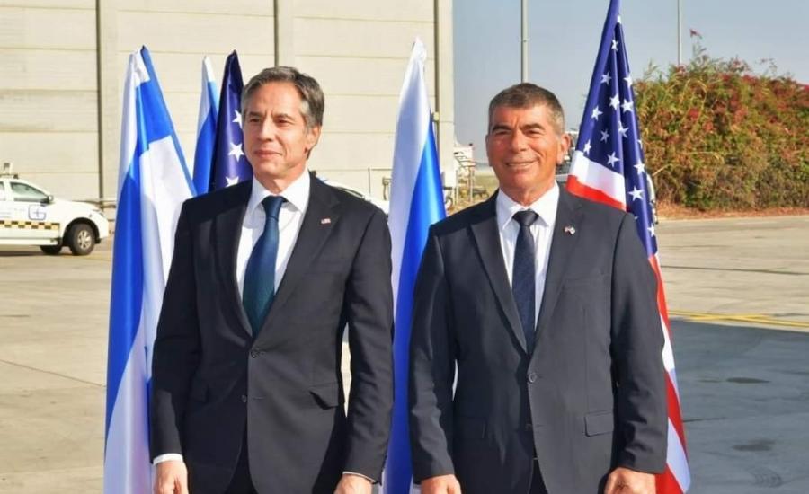 وزير الخارجية الامريكي في اسرائيل