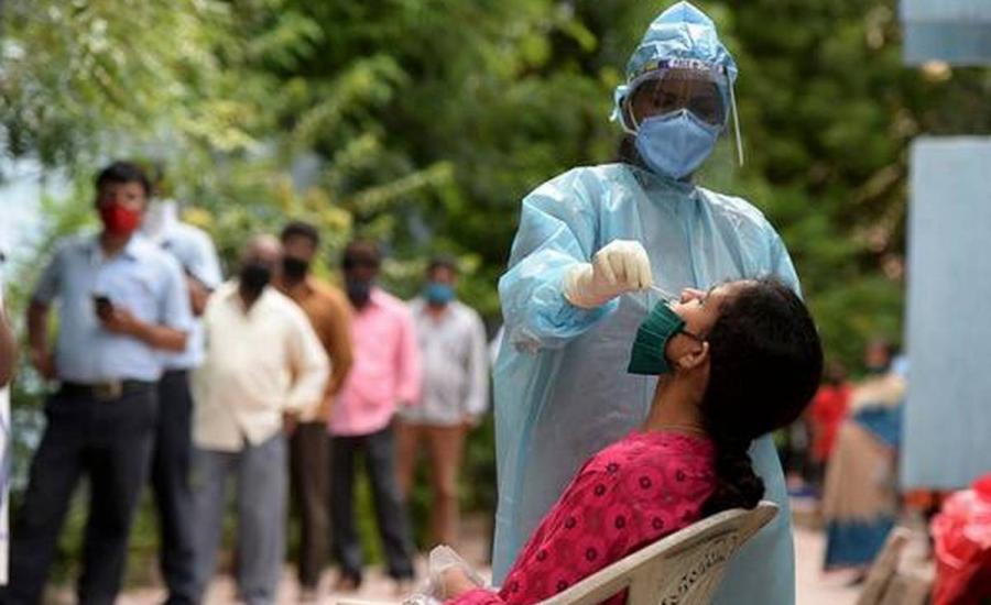الاصابات بكورونا في الهند