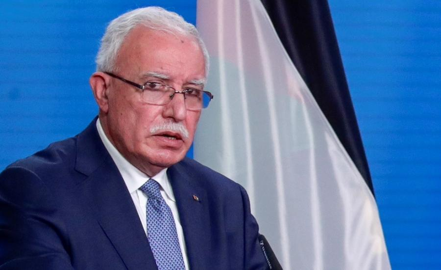 وزير الخارجية الفلسطيني وروسيا وتركيا